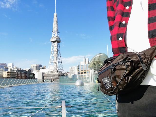 ナッツパックと名古屋テレビ塔